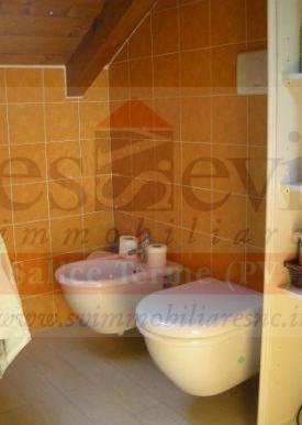 bagno mansarda particolare